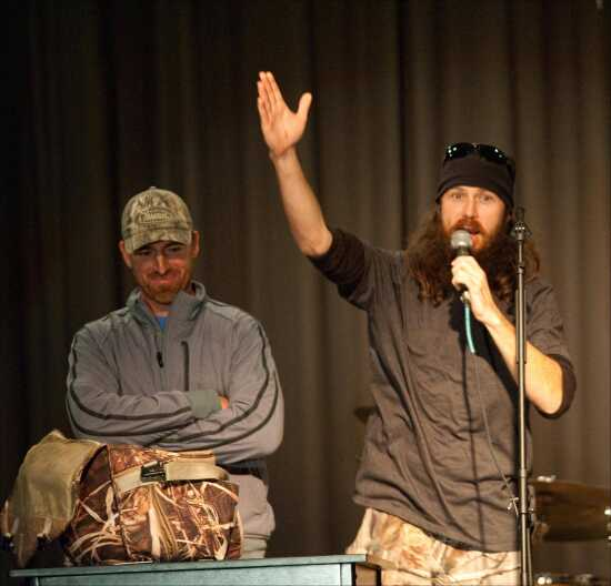 News: Faith, family, feathered fowl is Robertson's message (12/11/12