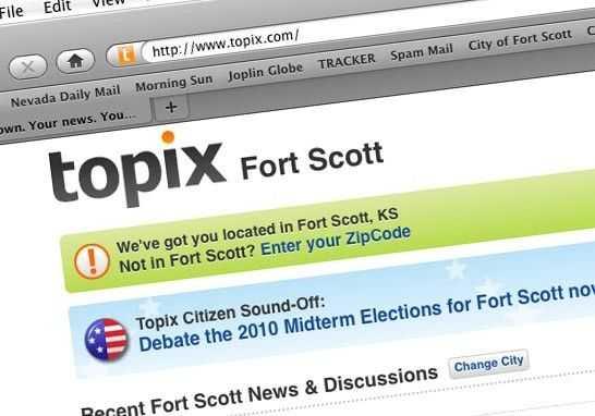 Local News Topix Website Sparks Local Phone Calls 11 18 10 Fort Scott Tribune